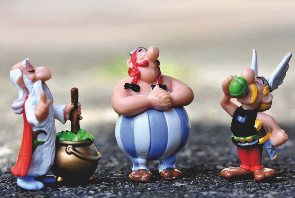 Asterix ratuje Obelixa